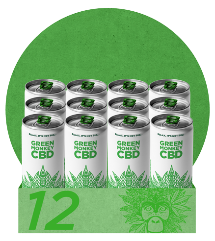 Green Monkey CBD 12 Pack SB
