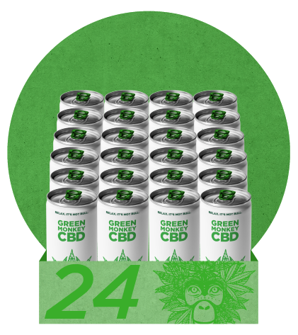 Green Monkey CBD 24 Pack SB